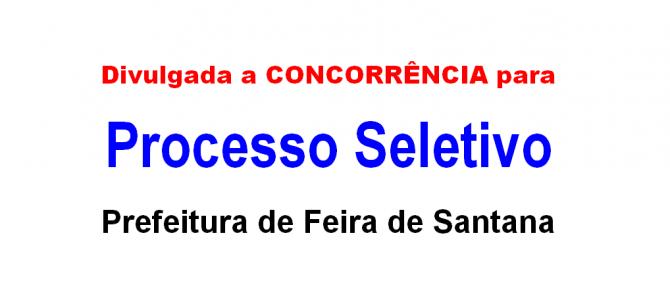 Concorrência Processo Seletivo REDA: 300 vagas para pedagogia em Feira de Santana