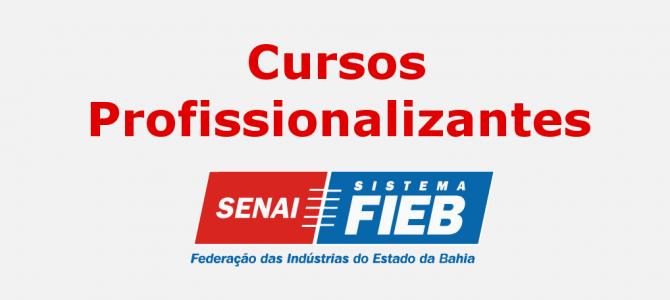 Cursos Senai – Inscrições abertas para Cursos Profissionalizantes até terça (20/06)!